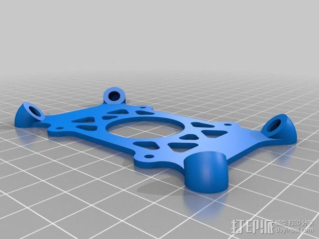飞行控制器防振底座 3D模型  图3