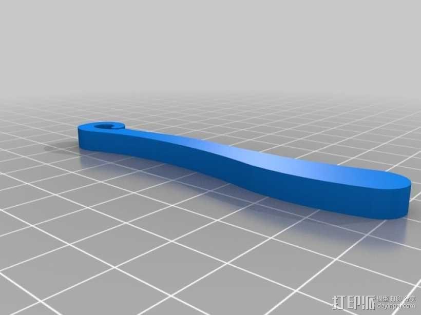 """""""山雀""""滑翔机 3D模型  图5"""