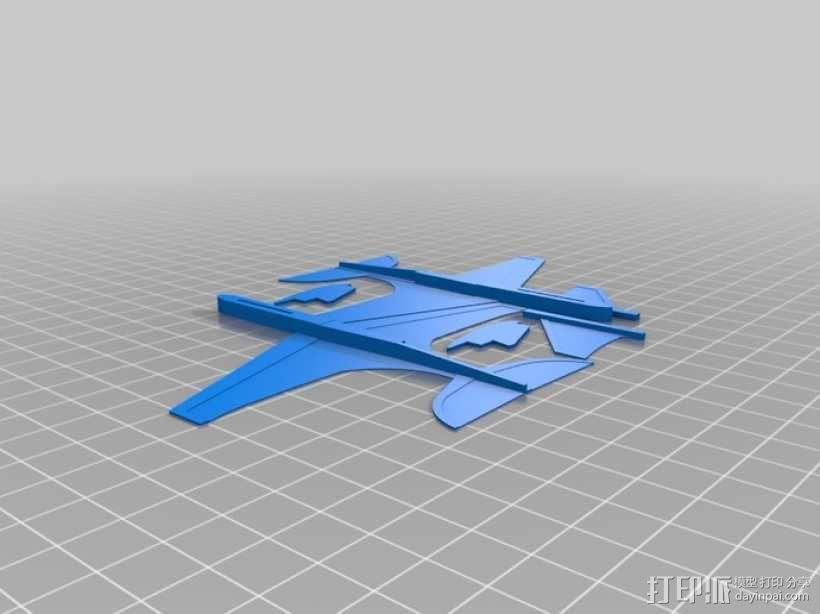 """""""山雀""""滑翔机 3D模型  图8"""