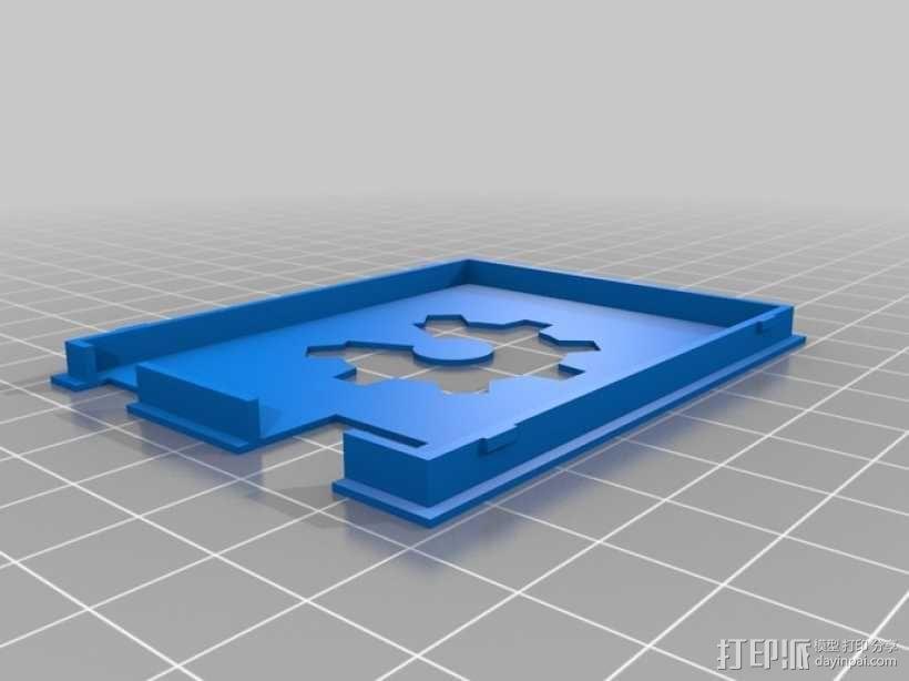 Arduino UNO电路板外壳 3D模型  图5