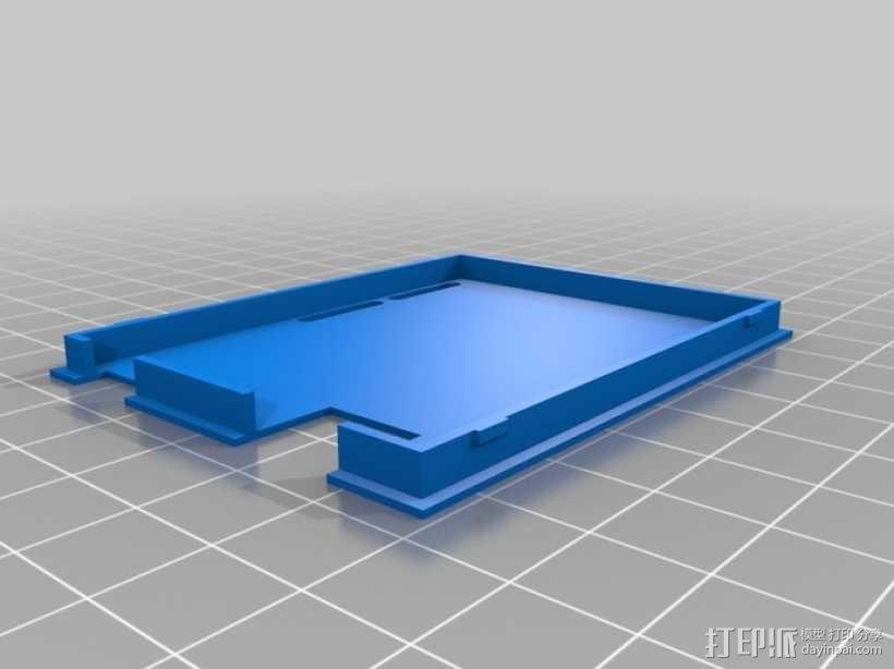 Arduino UNO电路板外壳 3D模型  图9