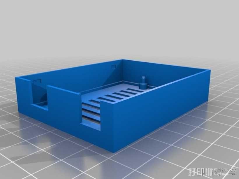 Arduino UNO电路板外壳 3D模型  图10