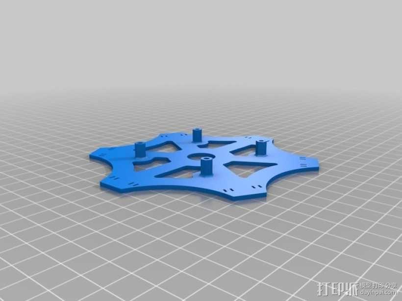 迷你四轴螺旋飞行器 3D模型  图7