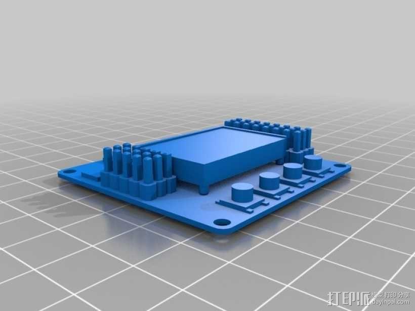 迷你四轴螺旋飞行器 3D模型  图10