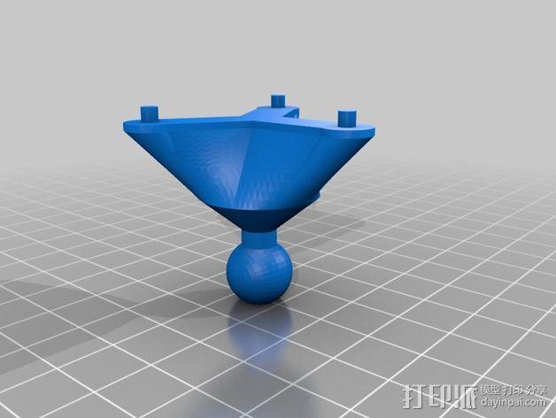 四轴飞行器的GPS 天线罩 3D模型  图9