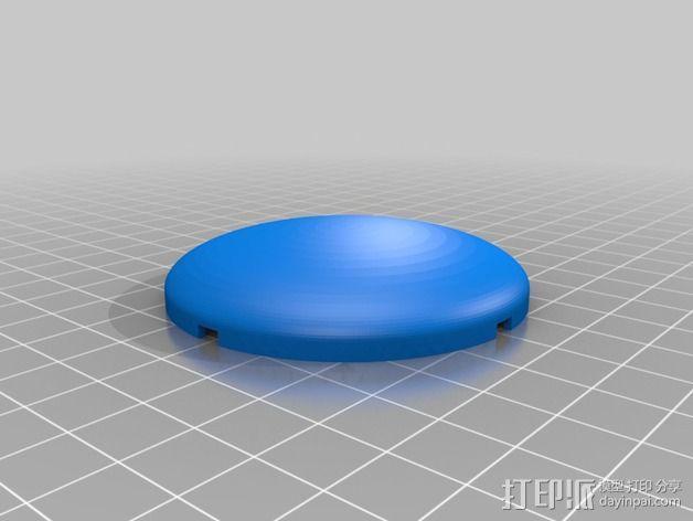 四轴飞行器的GPS 天线罩 3D模型  图10