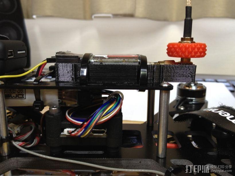 Immersion 5.8ghz 600 mW VTX固定槽 3D模型  图1