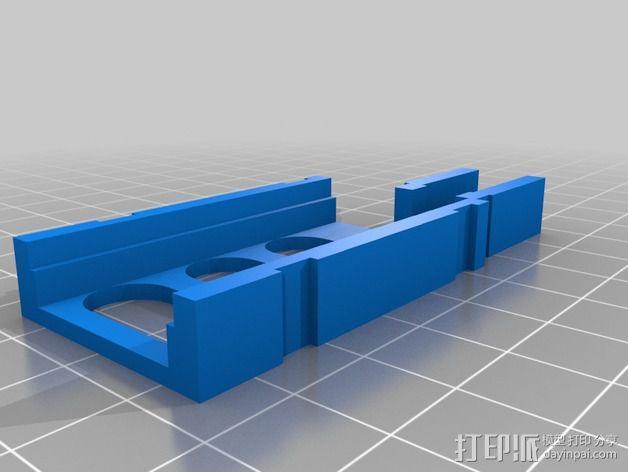 Immersion 5.8ghz 600 mW VTX固定槽 3D模型  图2