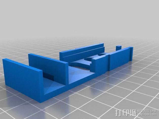Immersion 5.8ghz 600 mW VTX固定槽 3D模型  图3