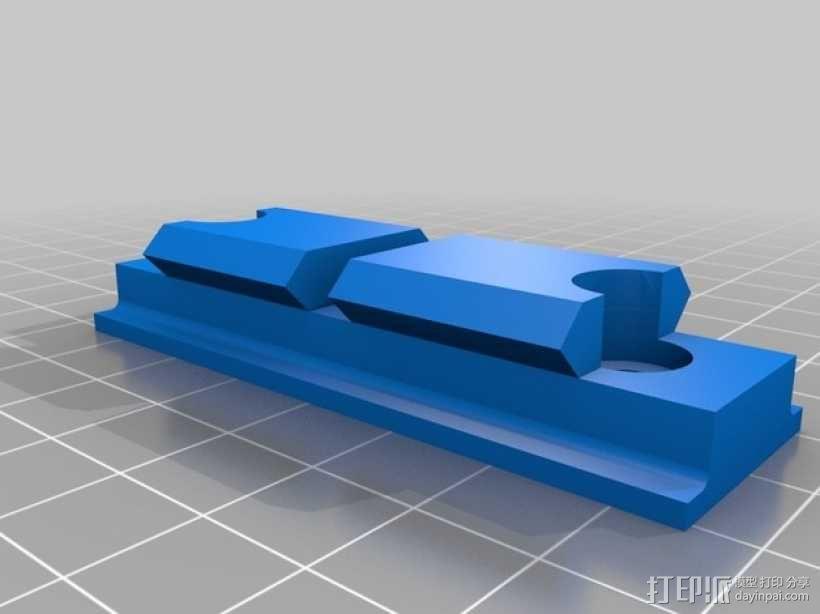 Remington Model 700 皮卡汀尼槽 3D模型  图6