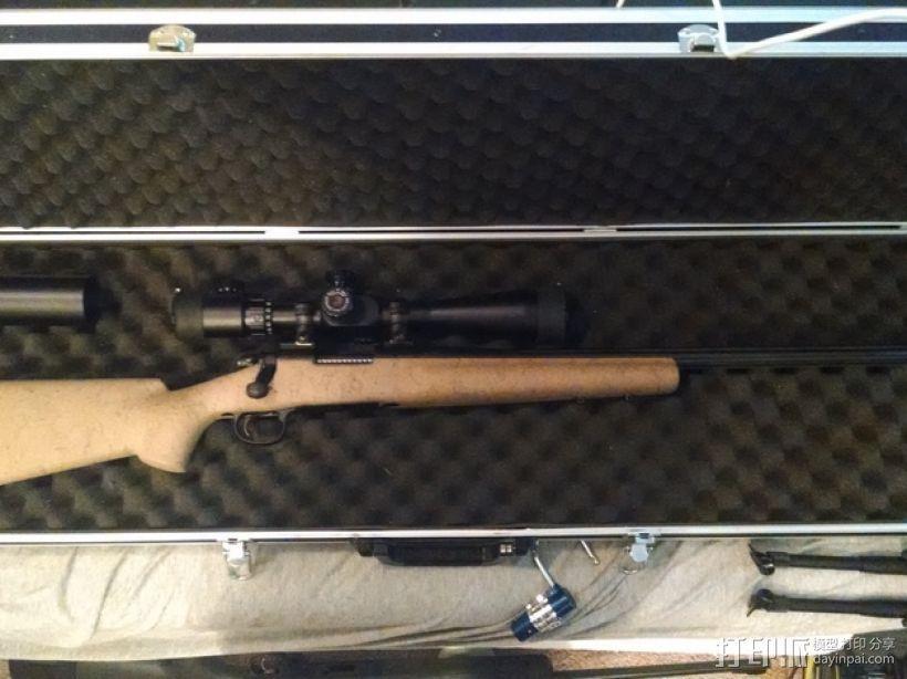 Remington Model 700 皮卡汀尼槽 3D模型  图7