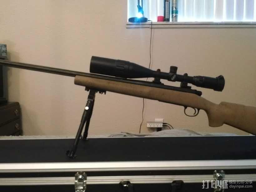 Remington Model 700 皮卡汀尼槽 3D模型  图9