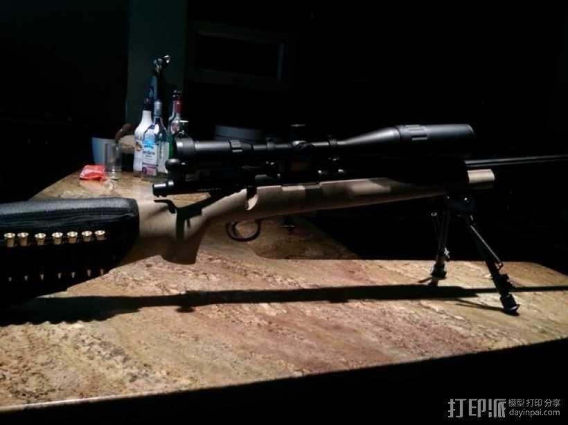 Remington Model 700 皮卡汀尼槽 3D模型  图10