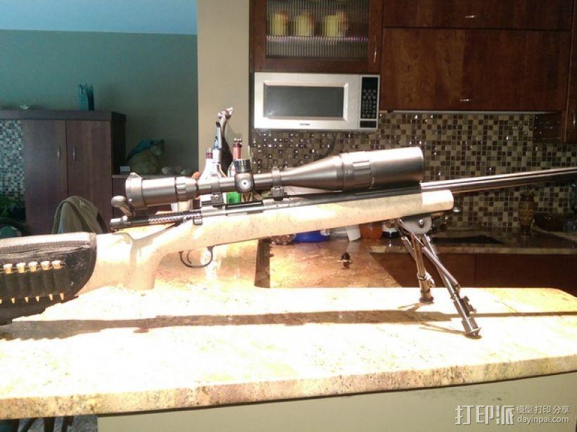 Remington Model 700 皮卡汀尼槽 3D模型  图11