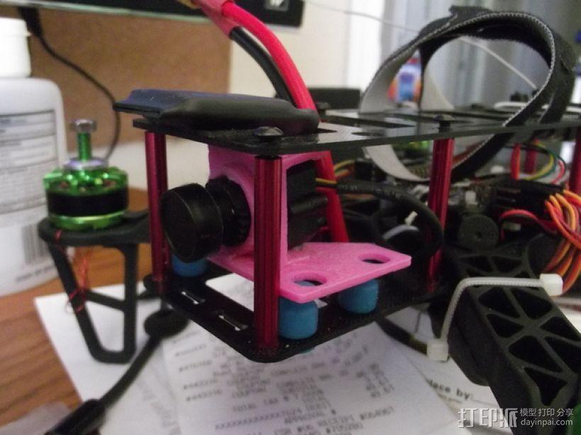 fatshark摄像机支架 3D模型  图3