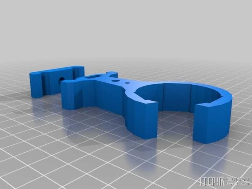 Slingbow 射箭弹弓 支架 3D模型  图2
