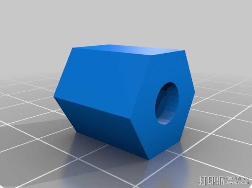 Slingbow 射箭弹弓 支架 3D模型  图3