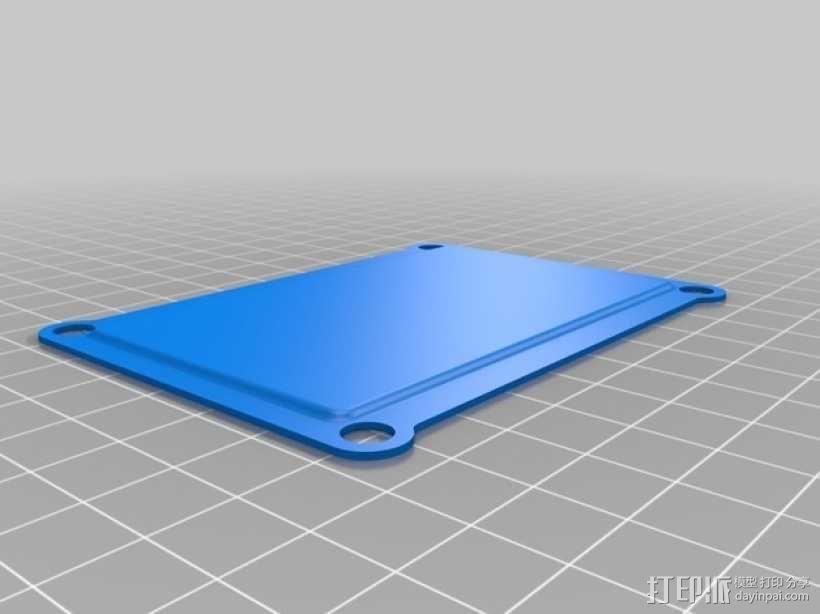四轴飞行器 面板 3D模型  图2