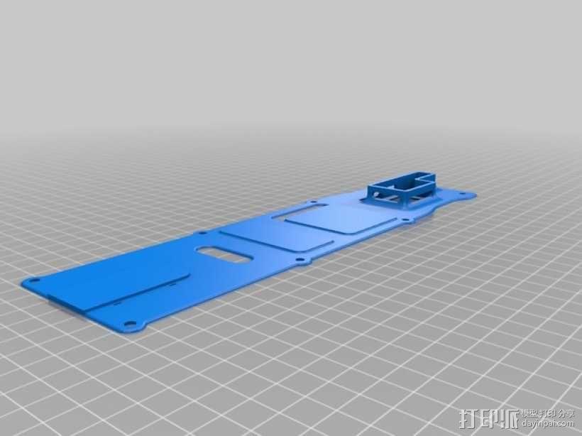 四轴飞行器 面板 3D模型  图3