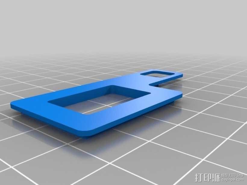 四轴飞行器 面板 3D模型  图4