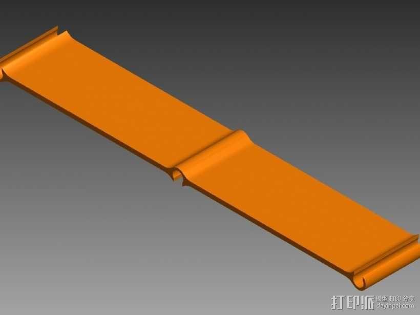 四轴飞行器 面板 3D模型  图7
