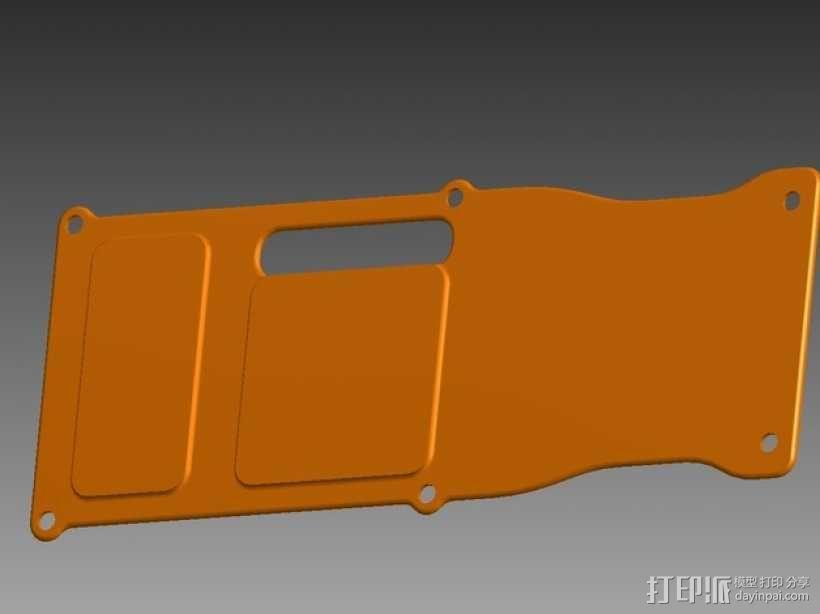 四轴飞行器 面板 3D模型  图11