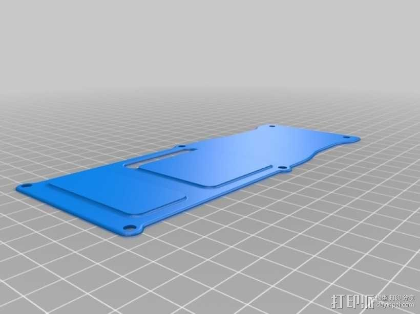 四轴飞行器 面板 3D模型  图12