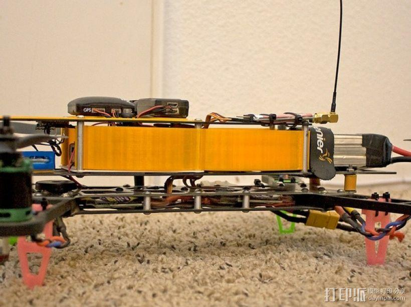 四轴飞行器 面板 3D模型  图16