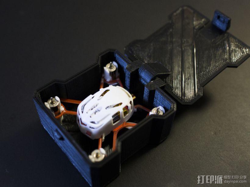迷你四轴飞行器 收纳盒 3D模型  图1