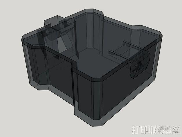 迷你四轴飞行器 收纳盒 3D模型  图5