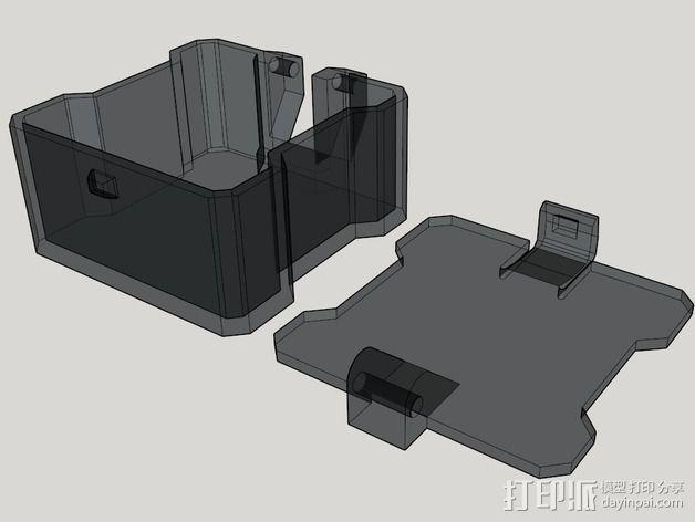 迷你四轴飞行器 收纳盒 3D模型  图4