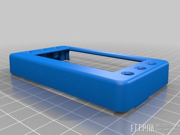 T400温度数据记录仪 3D模型  图2