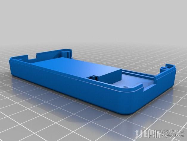 T400温度数据记录仪 3D模型  图3