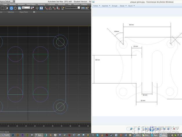 gopro相机固定架 3D模型  图5