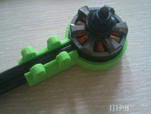 MT3506发动机 支架 3D模型  图6