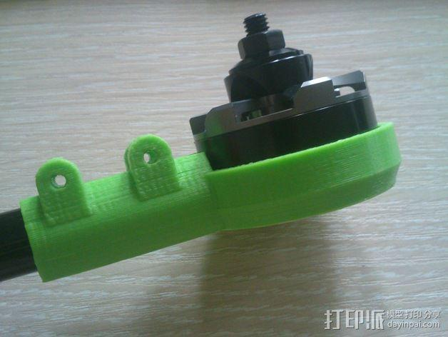 MT3506发动机 支架 3D模型  图7