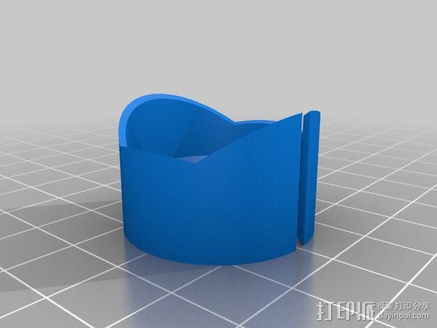 摄像机遮光罩  3D模型  图2