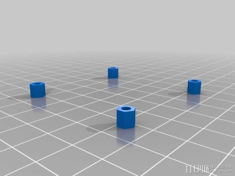 迷你四轴飞行器 框架 3D模型  图5
