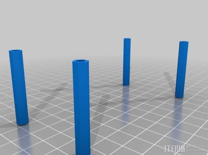 迷你四轴飞行器 框架 3D模型  图4