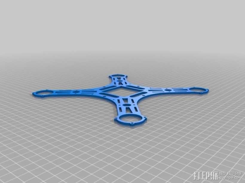 迷你四轴飞行器 框架 3D模型  图7