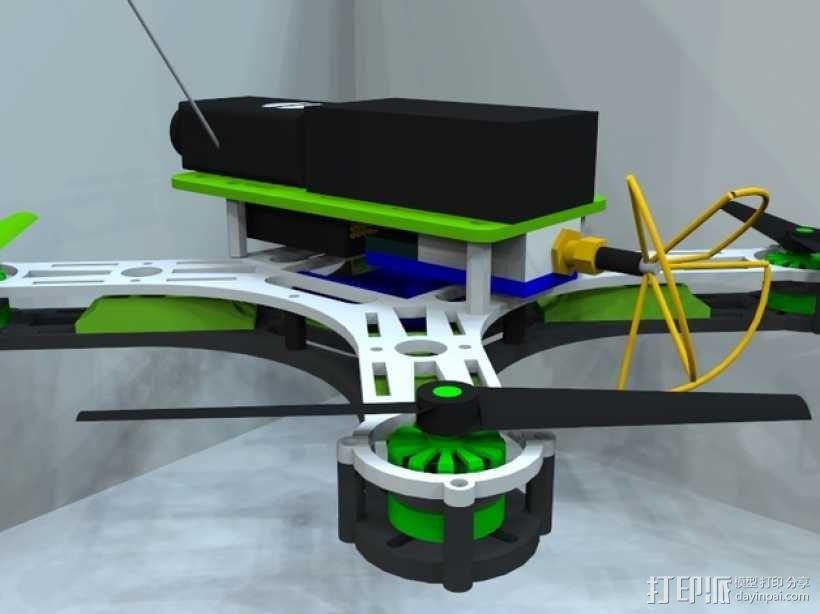 迷你四轴飞行器 框架 3D模型  图10
