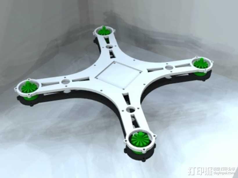 迷你四轴飞行器 框架 3D模型  图11