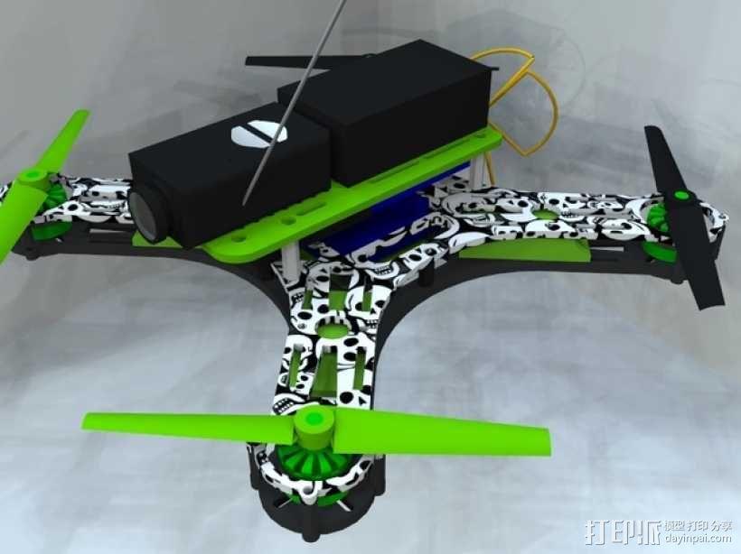 迷你四轴飞行器 框架 3D模型  图9
