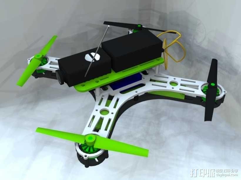 迷你四轴飞行器 框架 3D模型  图8
