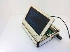 PIvena树莓派电路板外壳 3D模型