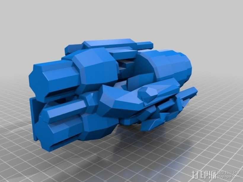 《变形金刚 》大黄蜂 3D模型  图2