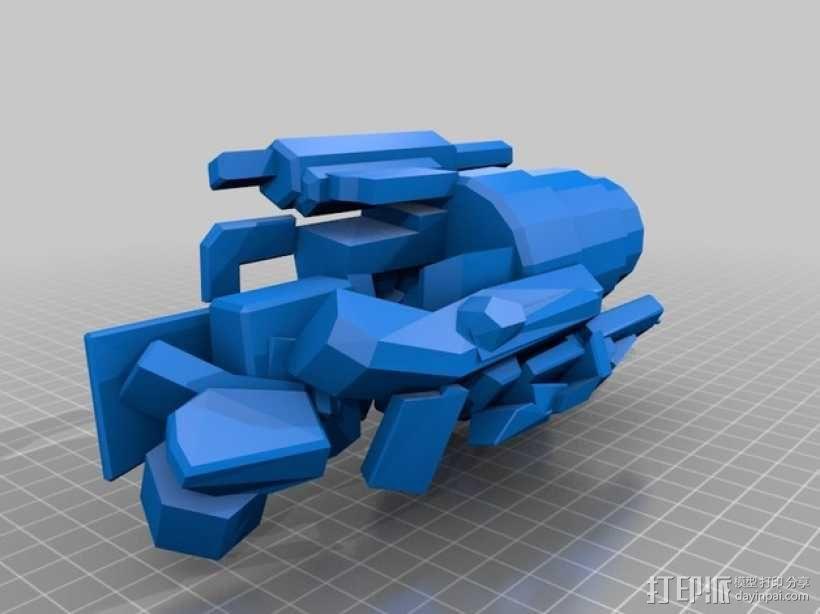 《变形金刚 》大黄蜂 3D模型  图3