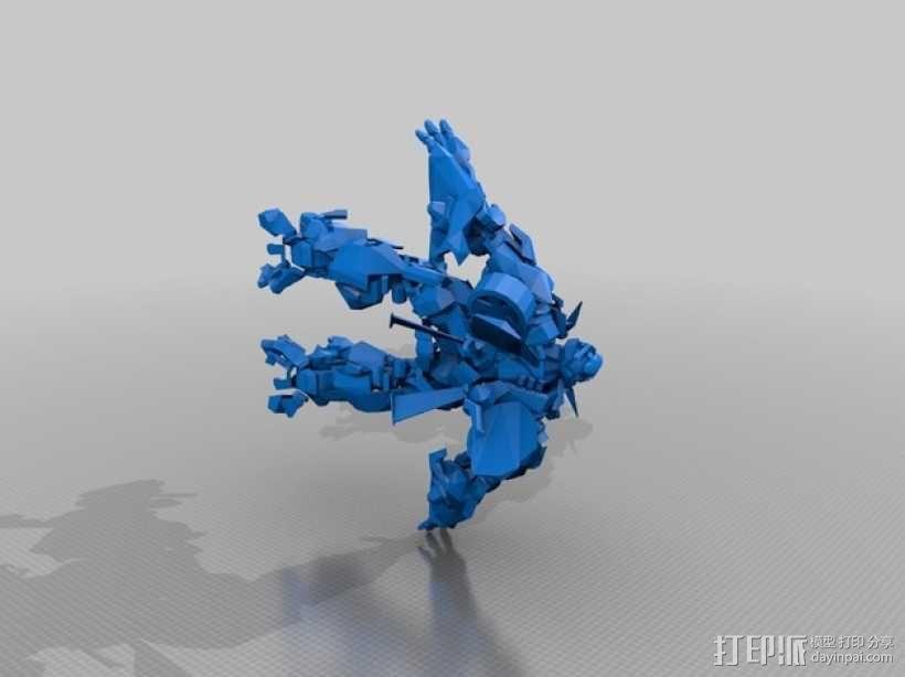 《变形金刚 》大黄蜂 3D模型  图4