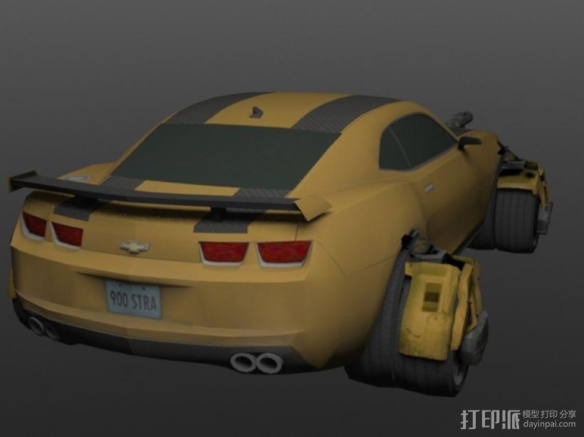 《变形金刚 》大黄蜂 3D模型  图6