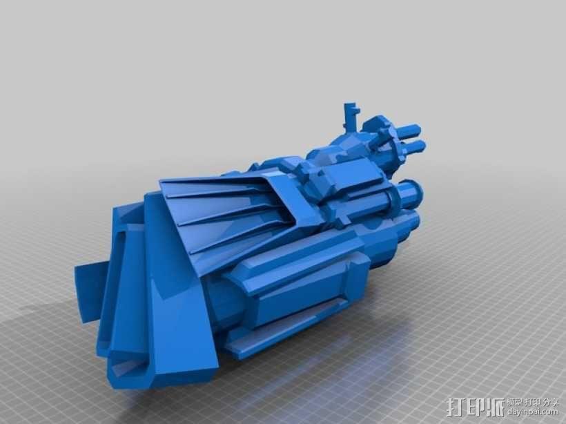 《变形金刚 》擎天柱 3D模型  图2